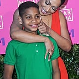 La La Anthony Text With Her Son About School
