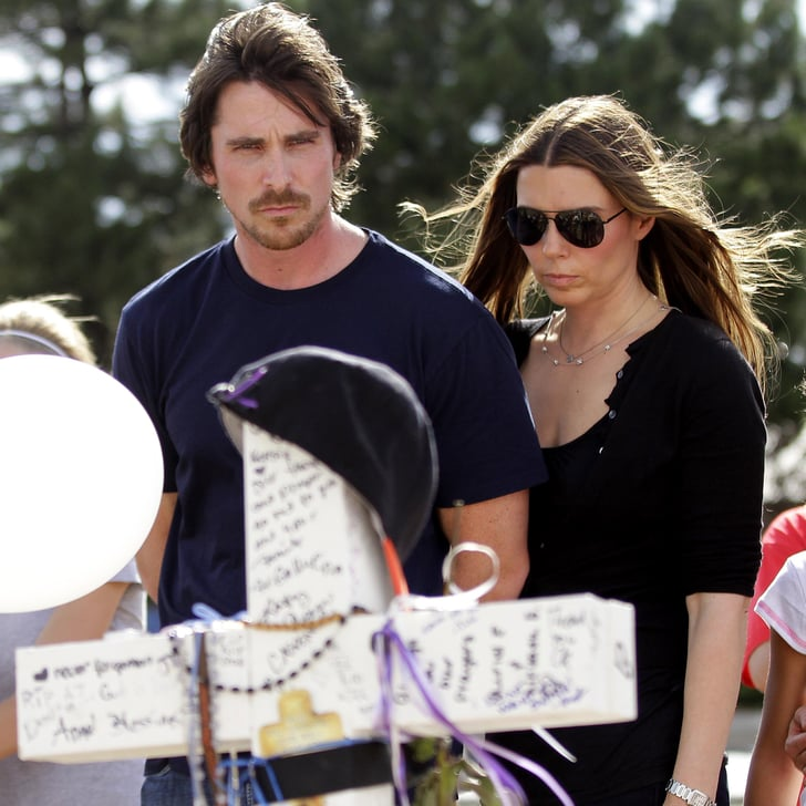 Shooting Massacre At Dark Knight Rises Screening: Christian Bale Visits Aurora, Colorado Shooting Victims