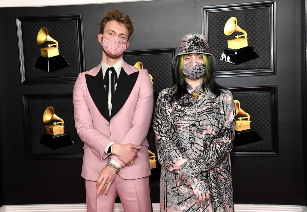 FINNEAS and Billie Eilish at the 2021 Grammy Awards