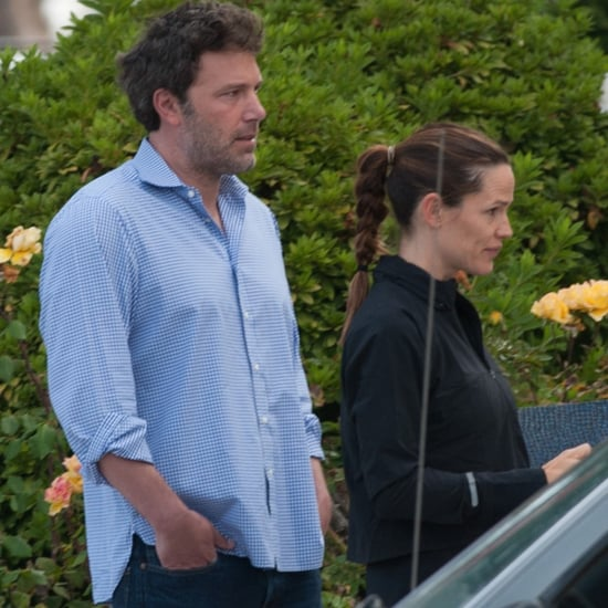 Ben Affleck and Jennifer Garner at Kids' School Sept. 2016