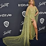 Jasmine Sanders at the 2020 Golden Globes Afterparty