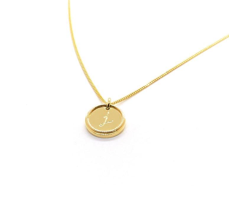 Natalie Marie Precious Initial Necklace ($500)