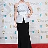 Jennifer Garner arrived at the BAFTA Awards in London.