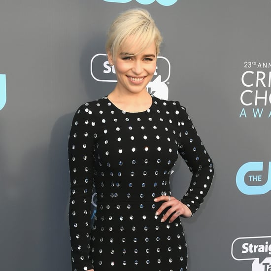 Emilia Clarke at the 2018 Critics' Choice Awards