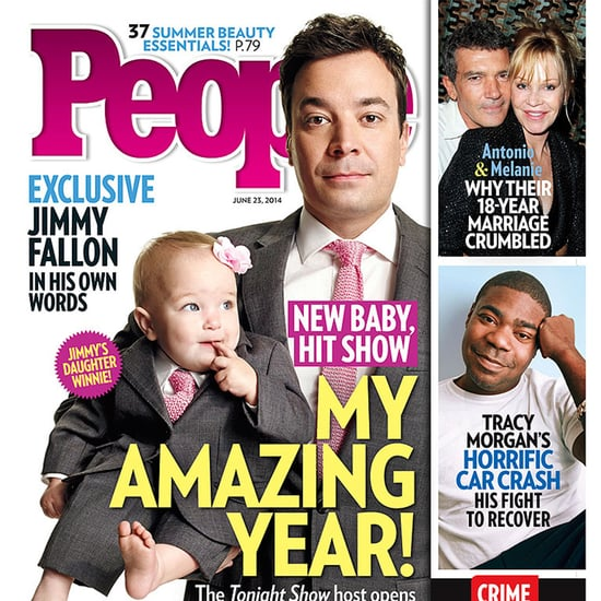 Jimmy Fallon and His Daughter on the Cover of People