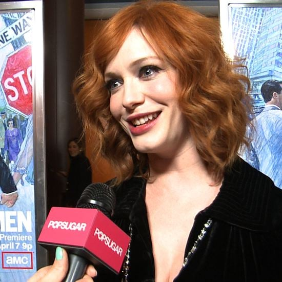 "Christina Hendricks on the Mad Men Actors She's ""Admired"""