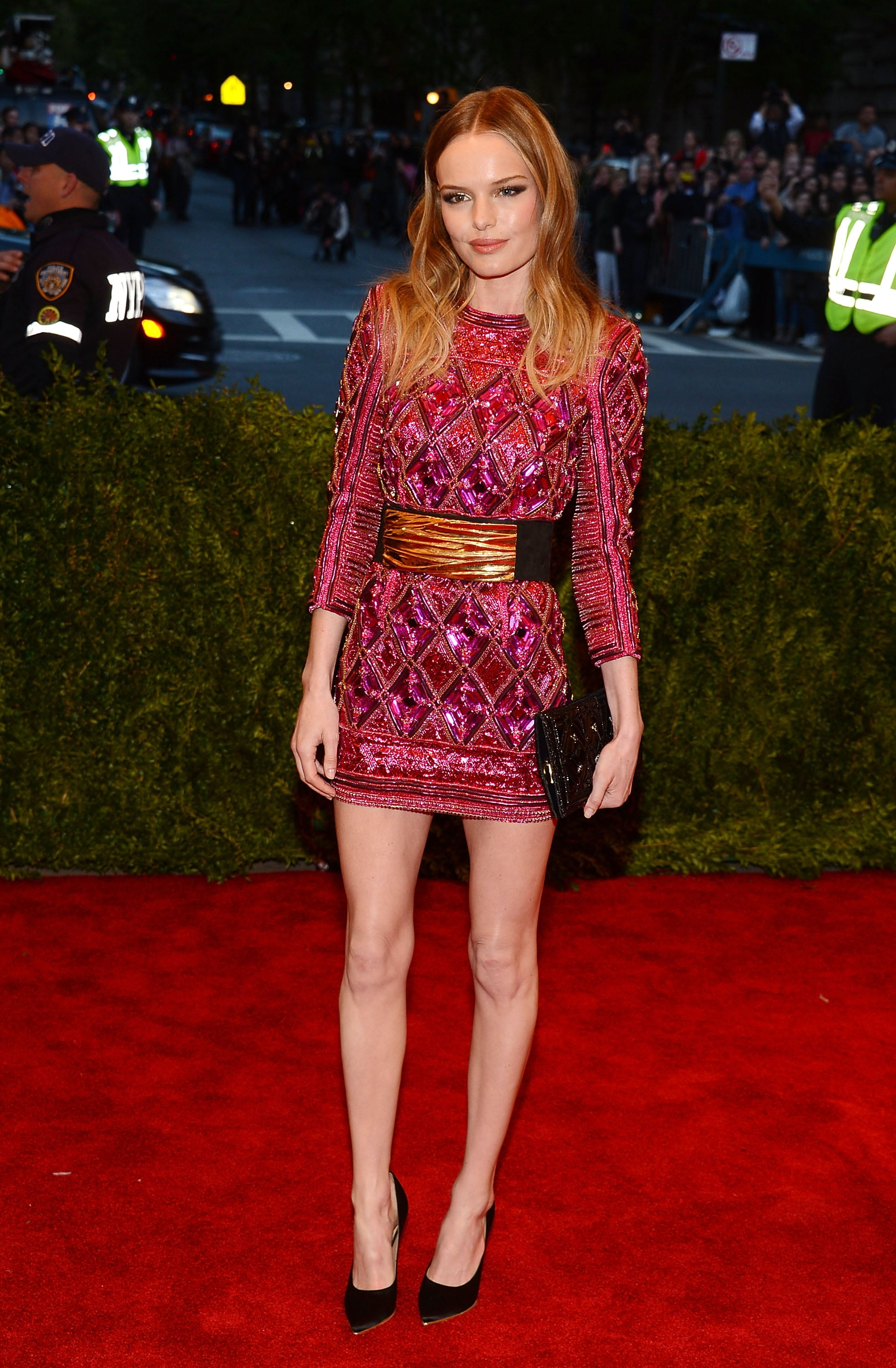At the 2013 Met Gala, Kate Bosworth hit a punk,chic high