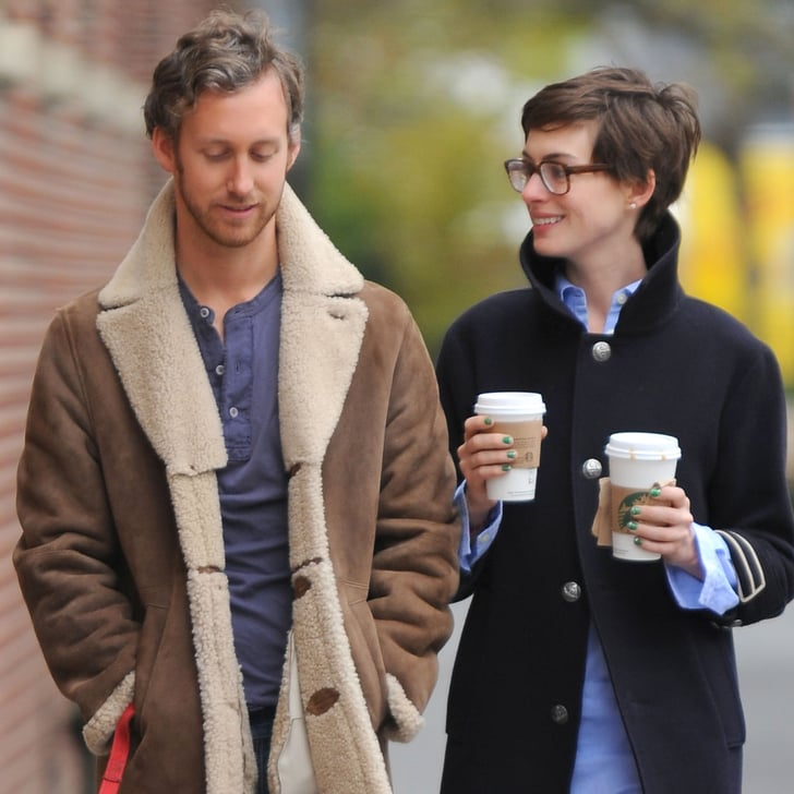 Anne Hathaway Engaged Celebrity Save The Dateanne: Anne Hathaway And Adam Shulman At Home In Brooklyn