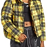 Nike Plaid Puffer Jacket