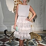 Nicky Hilton attended the Valentino show on July 3.