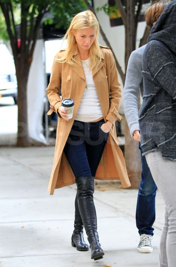 Gwyneth Paltrow in Over the Knee Boots Pictures
