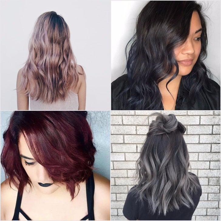 Rainbow hair color ideas for brunettes from instagram popsugar 30 rainbow hair ideas all brunettes should try urmus Image collections
