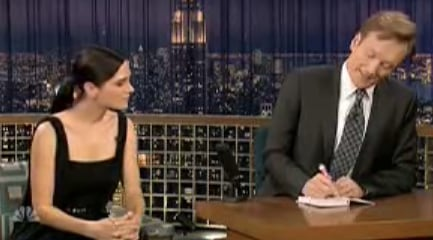 Jennifer Connelly on Conan O'Brien