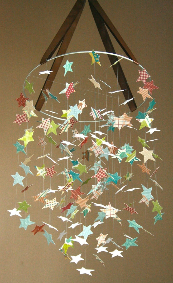 Try A Star Diy Mobile Paper Craft Nursery Mobiles From