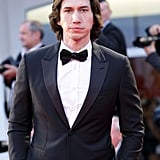 Adam Driver donned a tux for the premiere of Hungry Hearts on Sunday.
