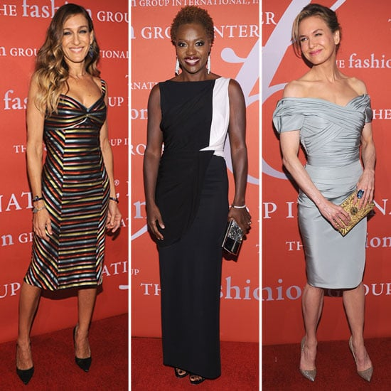 Renée Zellweger Returns to the Red Carpet With SJP and Viola