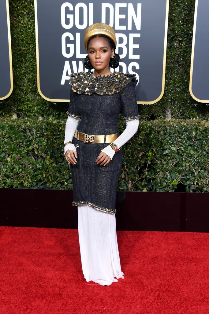 Janelle Monae at the 2019 Golden Globes