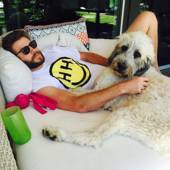 Miley Cyrus Posts Picture of Liam Hemsworth July 2016