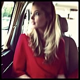 Doutzen Kroes took in the view of Turkey from her car window.  Source: Instagram user doutzenkroes1