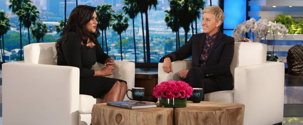 Mindy Kaling on The Ellen DeGeneres Show March 2017