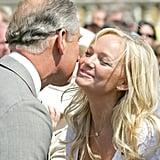 Prince Charles and Emma Bunton