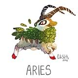 Gogoat as Aries