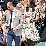 Kate Middleton's Alexander McQueen Dress at Wimbledon, July 2016