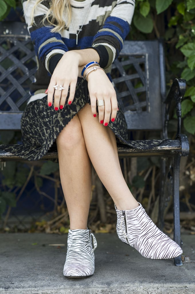 Zebra Chelsea Boots