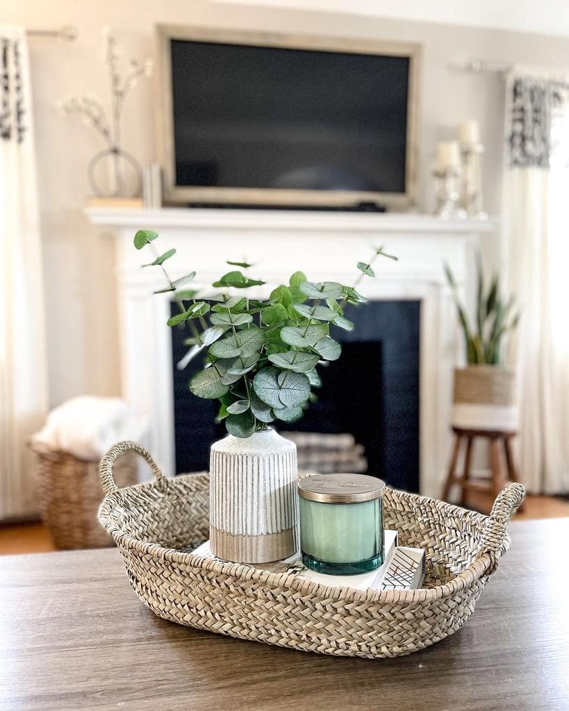 Aloe and Bergamot Glass Jar Wellness Candle