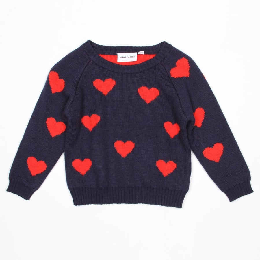 Mini Rodini Heart Sweater