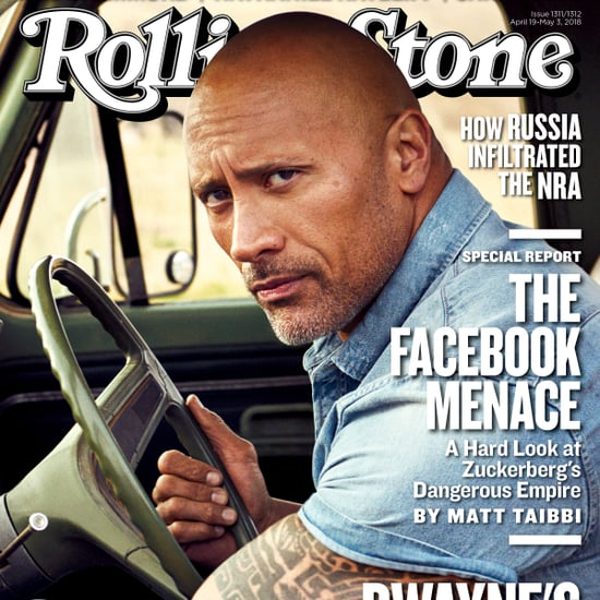Dwayne Johnson Rolling Stone Cover April 2018