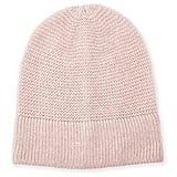 Rebecca Minkoff Garter-Stitched Headphone Beanie Hat ($38)