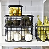 Urban Stacking Wire Baskets