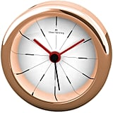 Oliver Hemming Desire Alarm Clock in Rose Gold ($80)
