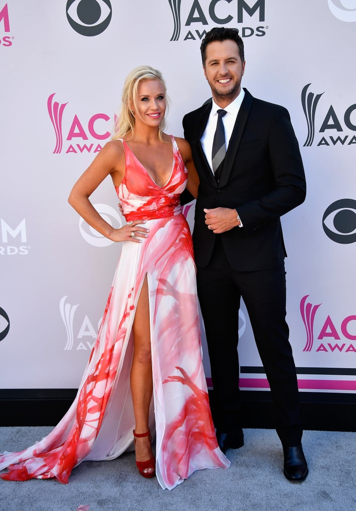 Caroline Boyer And Luke Bryan Celebrity Couples At The