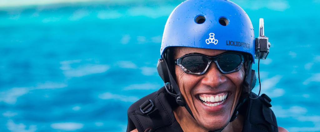 These Hilarious Memes of Barack Obama on Vacation Are Proof That We All Miss Him — a Lot