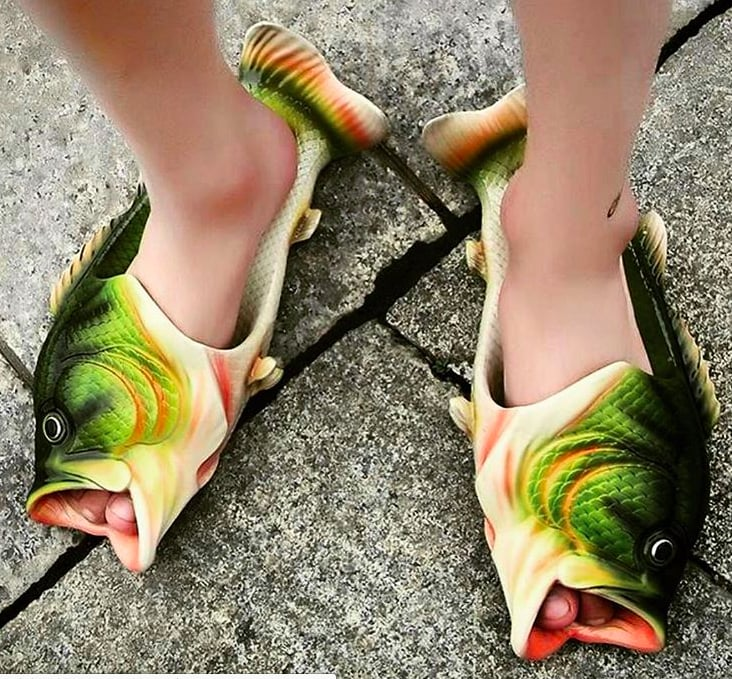 Fish Sandals on Amazon