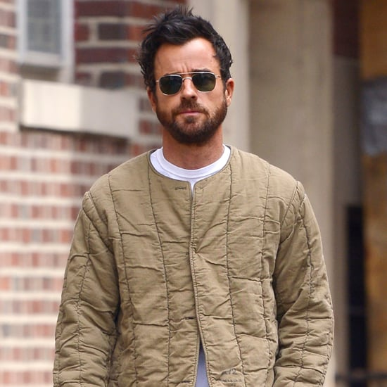 Justin Theroux Out in NYC After Jennifer Aniston Split
