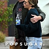 Emilia Clarke and Charlie McDowell PDA Pictures in LA 2018