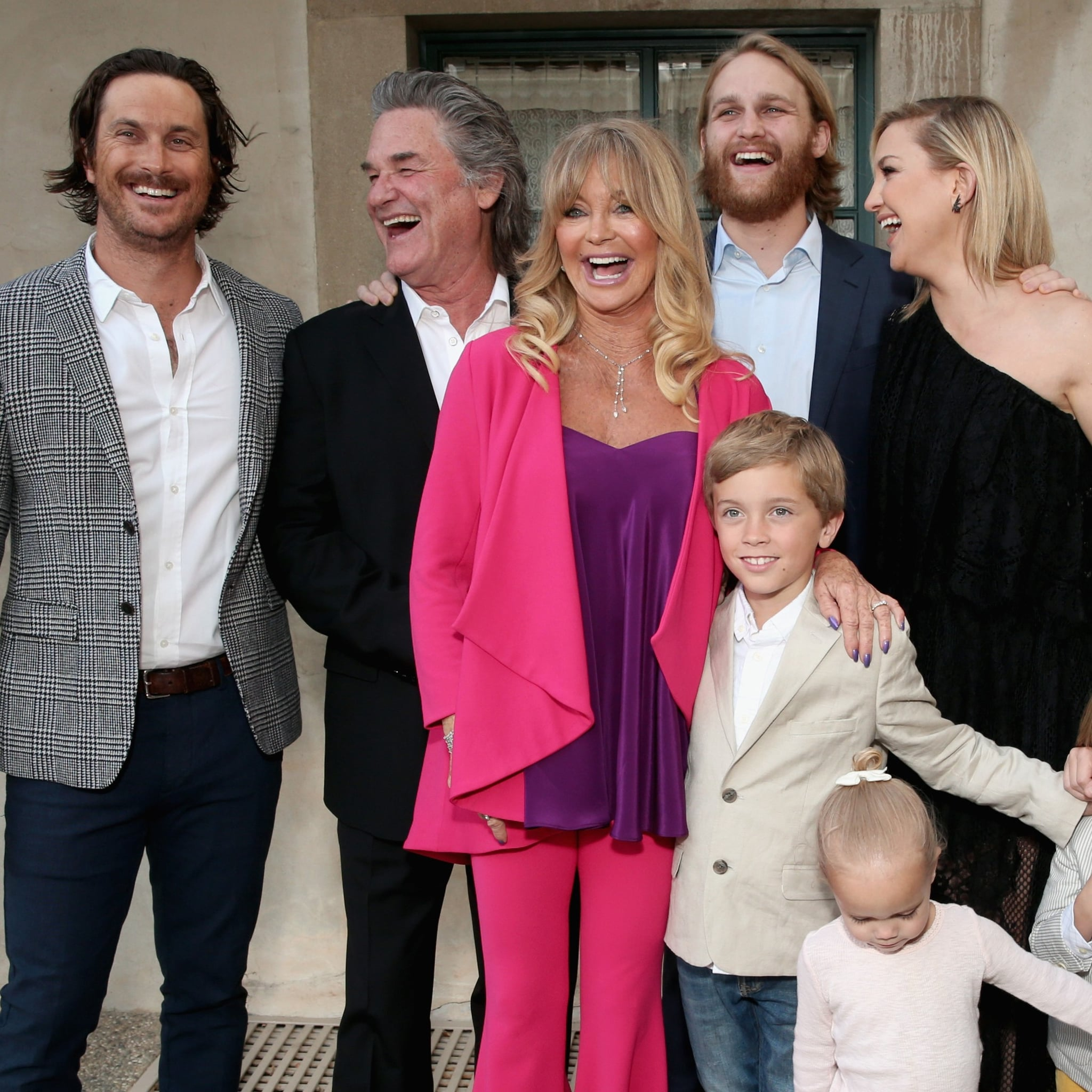 Kurt Russell And Goldie Hawn Family Pictures Popsugar Celebrity