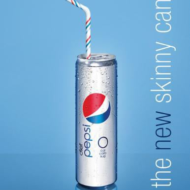 Picture of New Diet Pepsi Skinny Can