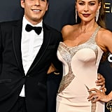 Sofia Vergara and Her Son, Manolo, at the Emmys 2016