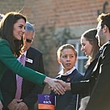 كيت ميدلتون تزور دار لرعاية الأطفال المرضى في نورفولك يناير
