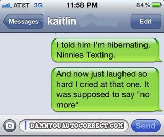 Funny iPhone Autocorrect Texts