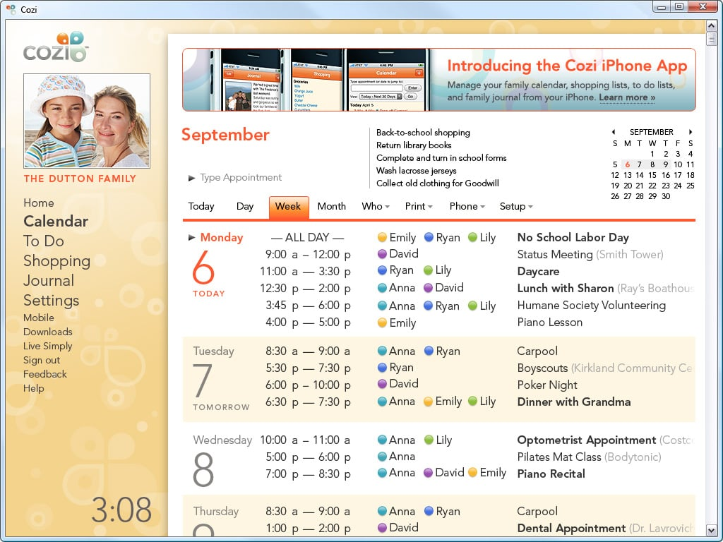 Cozi Organizational Apps For Parents Popsugar Family Photo 4