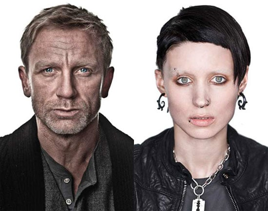the girl with the dragon tattoo cast pictures popsugar