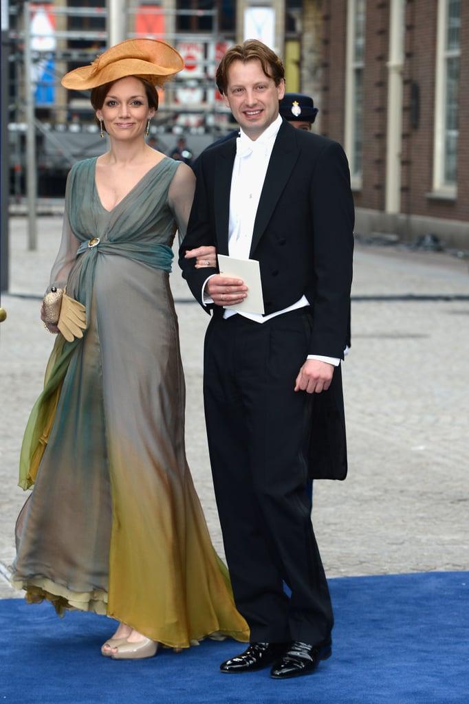 Prince Floris and Princess Aimée of Orange-Nassau were also in attendance.