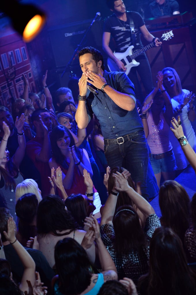 The audience cheered at the CMT Awards.