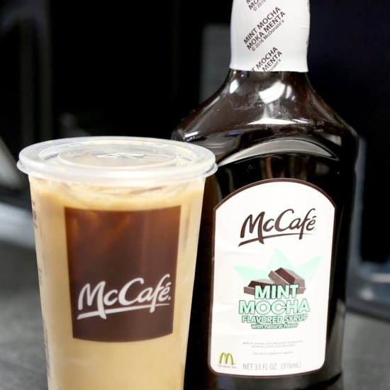 How to Order McDonald's Shamrock Iced Coffee