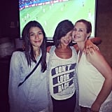 Cheryl Burke came together with her sisters to watch the game on Sunday. Source: Instagram user cherylburke